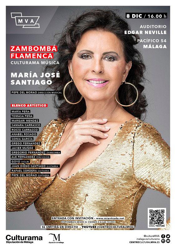 Cartel Zambomba Flamenca Málaga