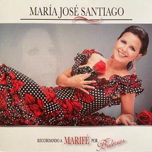 Carátula del disco Recordando a Marifé por bulerías